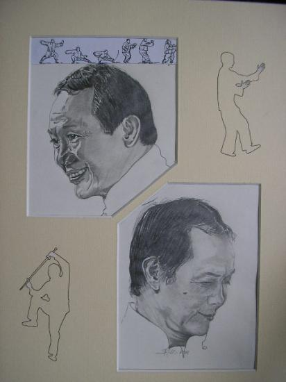 portrait yin yang