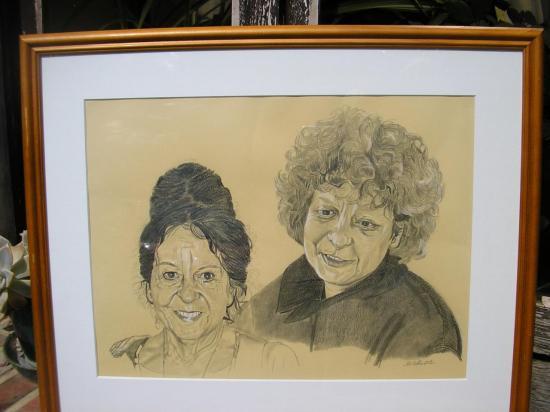 Anne et sa mère.