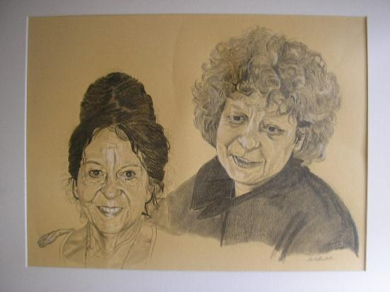 tableau Anne et Mona